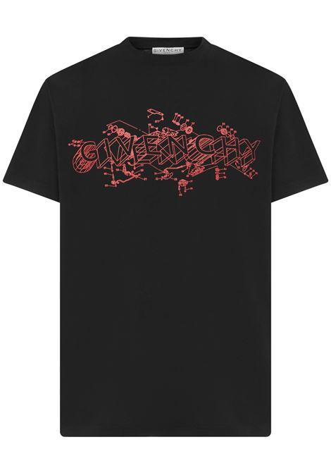 Givenchy Schematics T-shirt  Givenchy | 8 | BM710W3002001