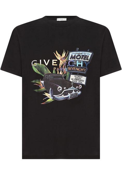 Givenchy Motel T-shirt  Givenchy | 8 | BM710X3002001