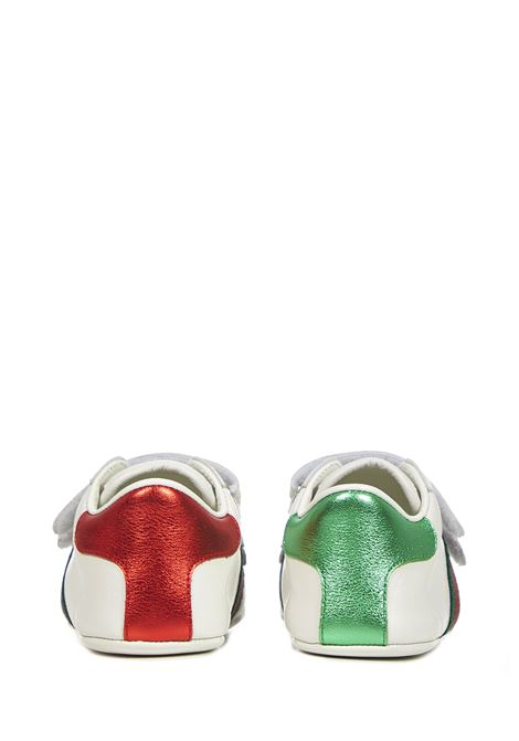 Gucci Junior Ace Sneakers  Gucci Junior | 1718629338 | 500852BKPT09070