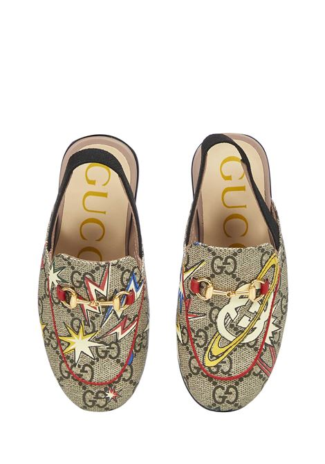 Gucci Junior Princetown sandals  Gucci Junior | 813329827 | 5087702DW208471