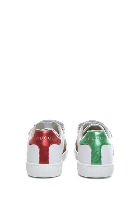 Gucci Junior Ace Sneakers  Gucci Junior | 1718629338 | 5087800II409064