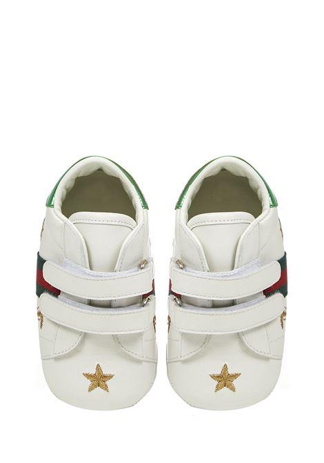 Gucci Junior Ace Sneakers  Gucci Junior | 1718629338 | 552926BKPY09069