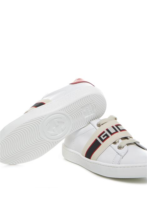 Gucci Junior Ace Sneakers  Gucci Junior | 1718629338 | 5530530IIR09065