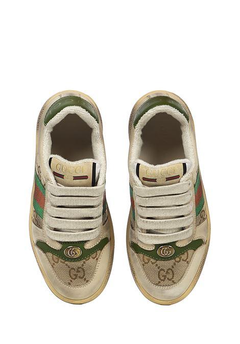 Gucci Junior Screener Sneakers Gucci Junior | 1718629338 | 626620G17609666