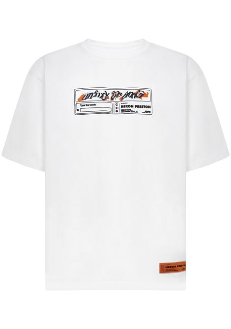 T-shirt Heron Preston Heron Preston | 8 | HMAA025S21JER0020110