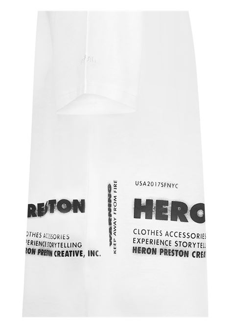 Heron Preston X Caterpillar T-shirt Heron Preston   8   HMAA028S21JER0010118
