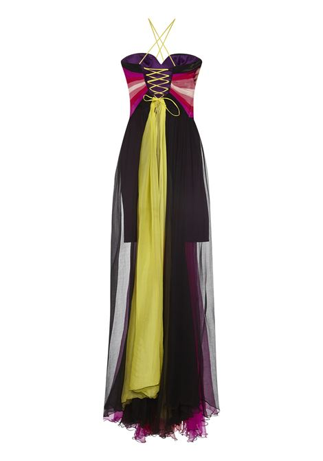 Iris Lara Long Dress Iris | 11 | IRS1BUTTERFLYIRISSAMPLE