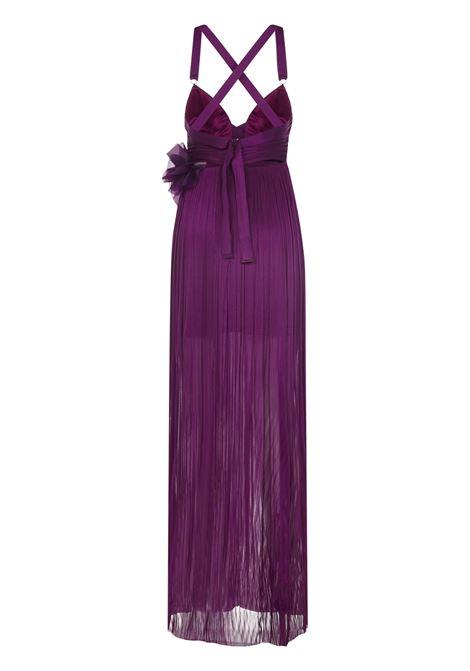 Iris Dahlia Long Dress Iris | 11 | IRS1ZAIANORCHID