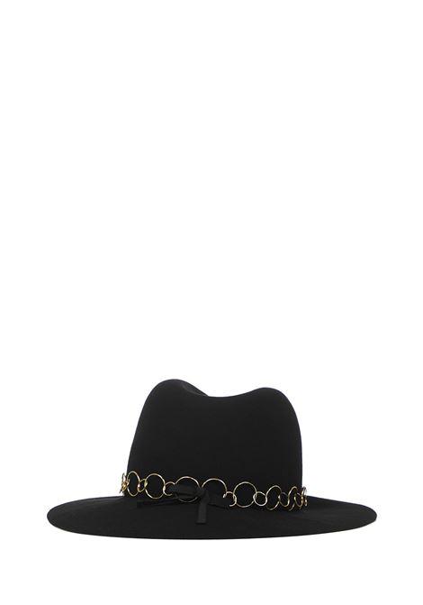 Maison Michel Henrietta Hat Maison Michel | 26 | 1002091001BLACK