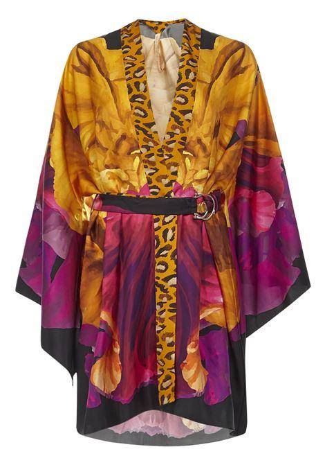 Maria Lucia Hohan Kyoto Kimono Kaftan Maria Lucia Hohan | 378 | KYOTOBLACKFUCHSIA
