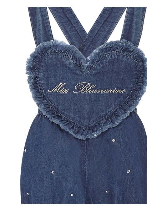 Miss Blumarine Salopette Miss Blumarine | 1481122335 | MBL3413BLU