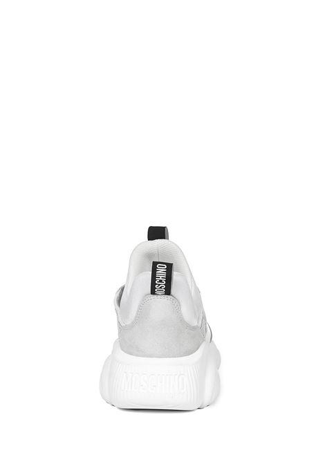 Moschino Teddy Sneakers Moschino | 1718629338 | MA15103G1CMQ110AMIXBIANCO
