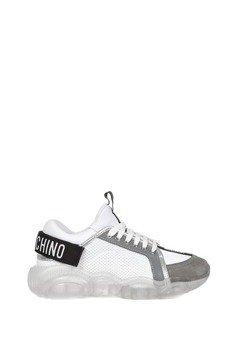 Moschino Teddy Sneakers Moschino   1718629338   MA15113G1CMR210ABIANCOGRIGIO