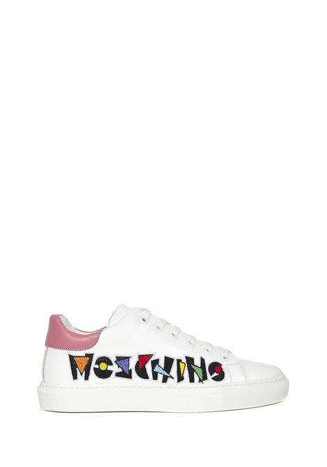 Moschino Serena 25 Sneakers Moschino   1718629338   MA15172G1CMFB10ABIANCOROSA