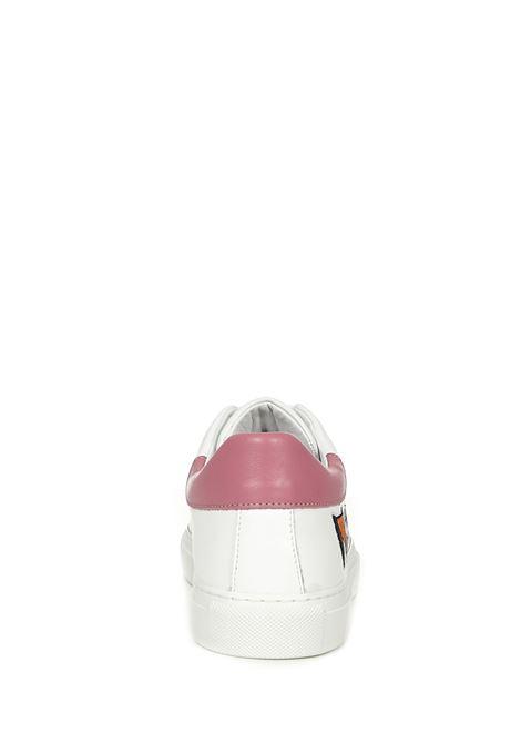 Moschino Serena 25 Sneakers Moschino | 1718629338 | MA15172G1CMFB10ABIANCOROSA
