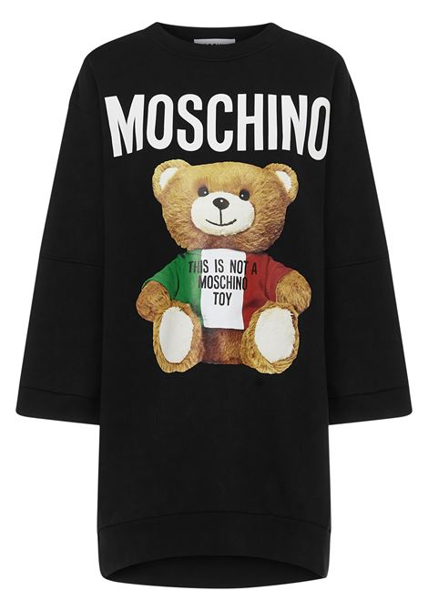 Moschino Italian Teddy Bear Mini Dress Moschino | 11 | V04155271555