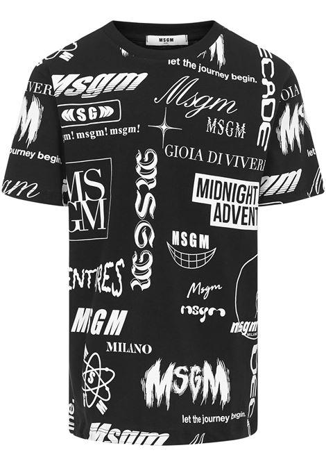 Msgm Kids T-shirt Msgm Kids | 8 | MS027635110