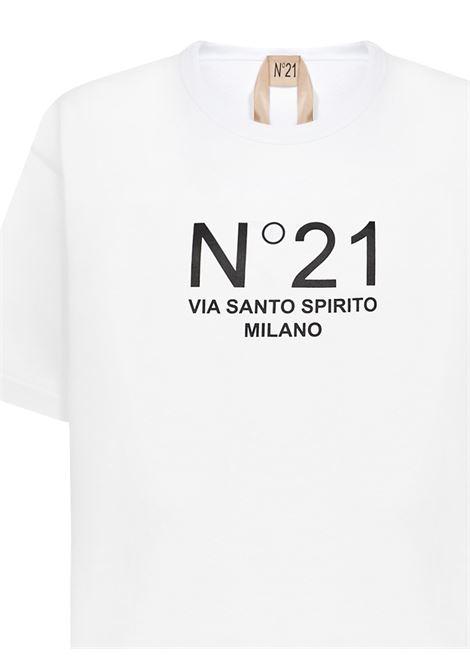 N°21 T-shirt N°21 | 8 | F05163141101