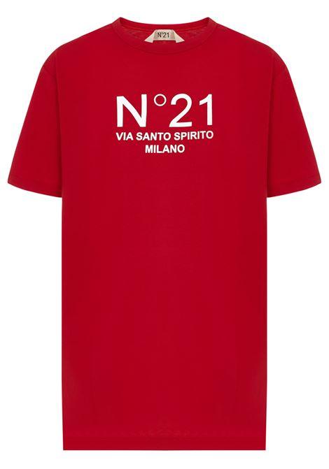 N°21 T-shirt N°21 | 8 | F05163144574