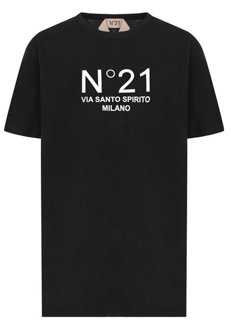 N°21 T-shirt N°21 | 8 | F05163149000