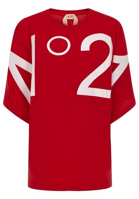 N°21 T-shirt N°21 | 8 | F10163144574