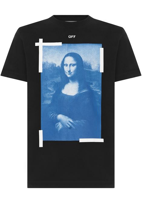 Off-White Monalisa T-shirt Off-White | 8 | OMAA027R21JER0021001