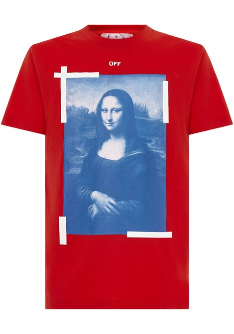 Off-White Monalisa T-shirt Off-White | 8 | OMAA027R21JER0022501