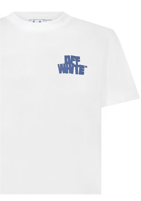 Off-White Arrows Hand Print T-shirt  Off-White | 8 | OMAA027R21JER0050140