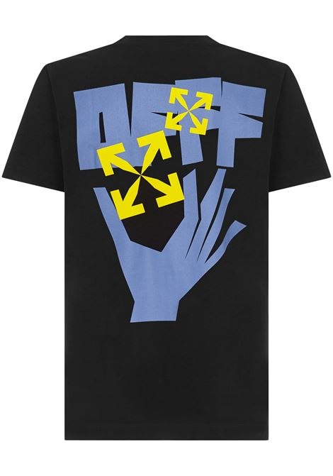 Off-White Arrows Hand Print T-shirt  Off-White | 8 | OMAA027R21JER0051040