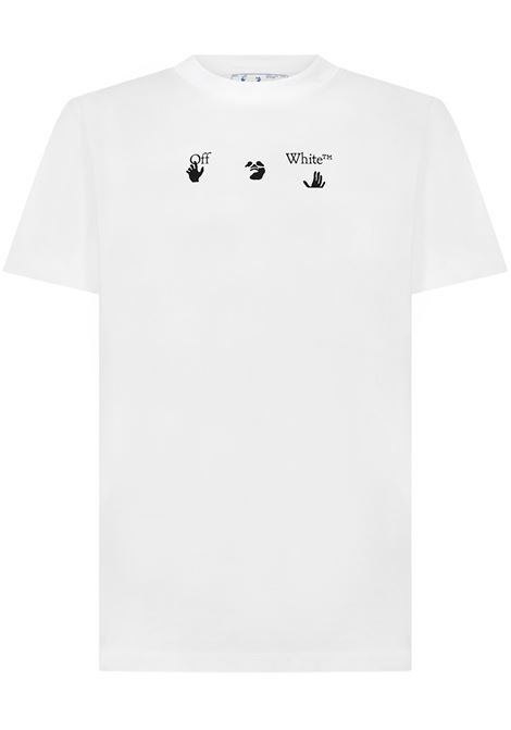 Off-White Peace Worldwide T-shirt  Off-White | 8 | OMAA027R21JER0090155