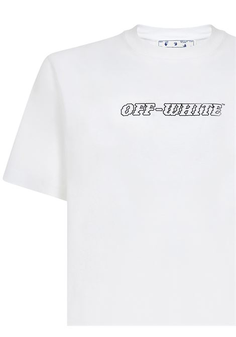 Off-White Pascal Painting T-shirt Off-White | 8 | OMAA027R21JER0110131