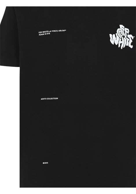 Off-White Adam Is Eve T-shirt  Off-White | 8 | OMAA027S21JER0141001