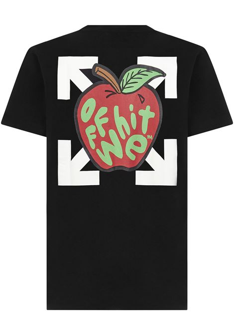 Off-White Apple T-shirt Off-White | 8 | OMAA027S21JER0231025