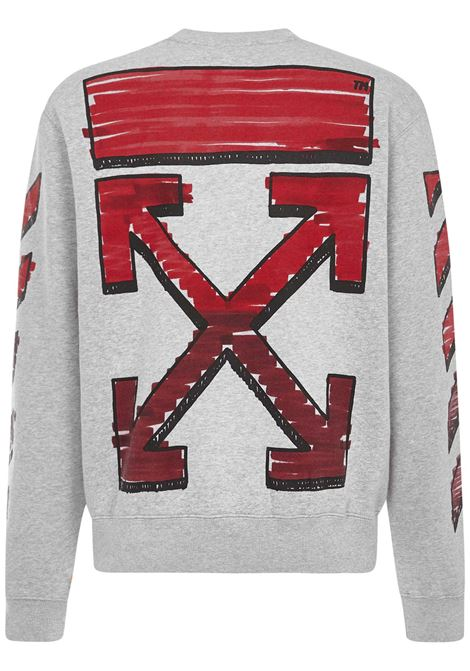 Off-White Marker Sweatshirt Off-White | -108764232 | OMBA025R21FLE0040825