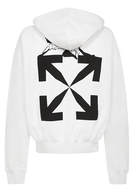 Off-White World Caterpillar Sweatshirt  Off-White | -108764232 | OMBB037R21FLE0090110