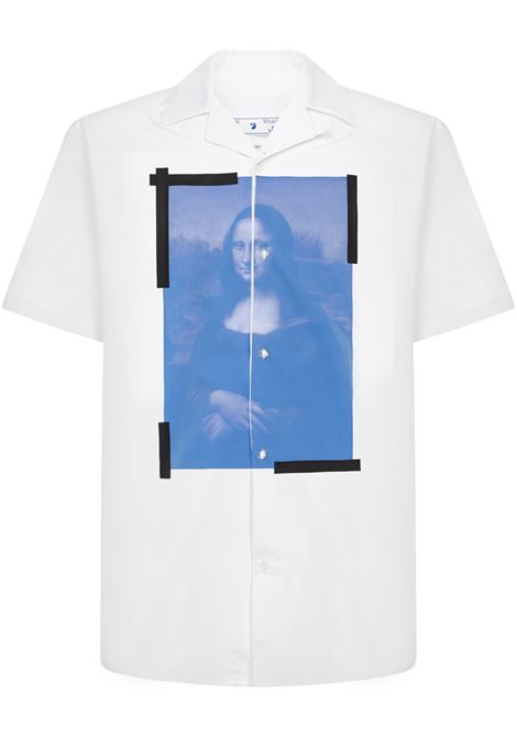 Off-White Monalisa Shirt Off-White | -1043906350 | OMGA163R21FAB0020110