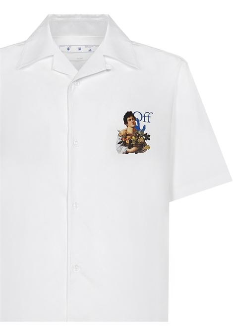 Off-White Caravaggio Boy Shirt Off-White | -1043906350 | OMGA163S21FAB0080145