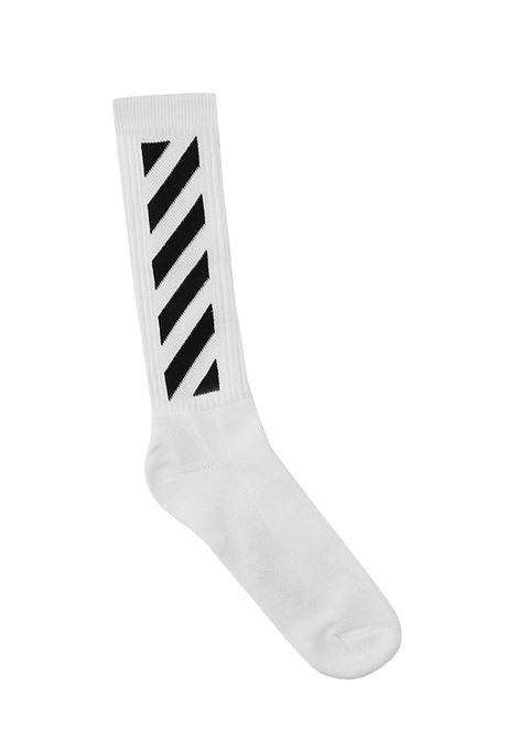 Off-White Diag Socks  Off-White | -1289250398 | OMRA001R21KNI0030110