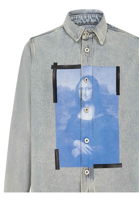 Off-White Monalisa Shirt Off-White | -1043906350 | OMYD027R21DEN0014001
