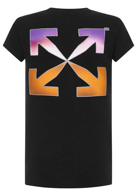 Off-White Gradient-style T-shirt Off-White | 8 | OWAA040R21JER0011084