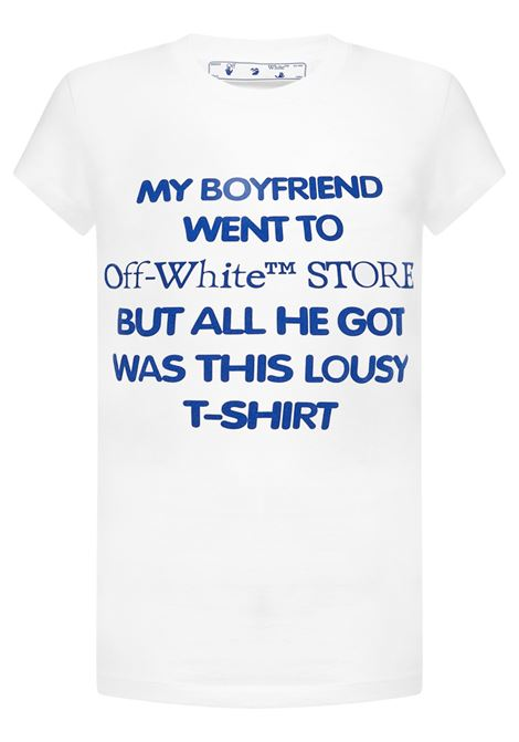 Off-White T-shirt  Off-White | 8 | OWAA040R21JER0020145