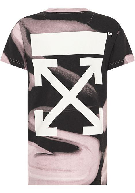 T-shirt Liquid Melt Arrow Off-White Off-White | 8 | OWAA049R21JER0023101