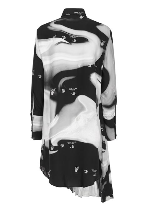 Off-White Liquid Melt Mini Dress Off-White | 11 | OWDB280R21FAB0031009