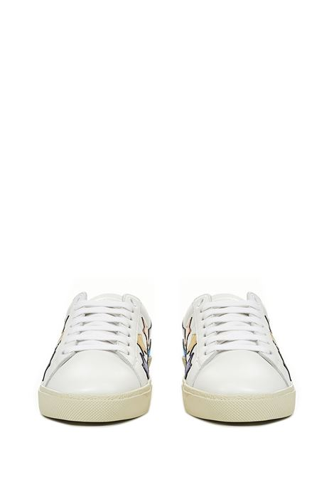 Saint Laurent Court Classic SL/06 Metallic California Sneakers  Saint Laurent | 1718629338 | 59254100NB09090