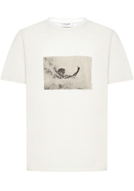 Saint Laurent Surfer T-shirt Saint Laurent   8   650535Y36AF9285