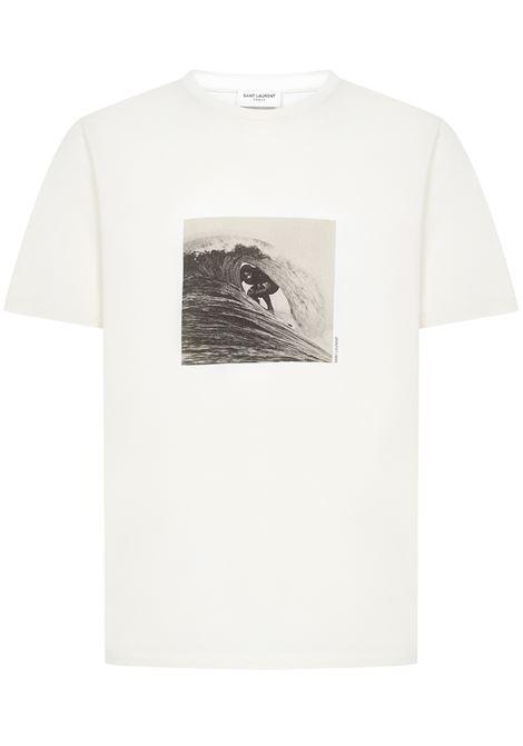 Saint Laurent Surfer T-shirt Saint Laurent   8   650539Y36AH9285