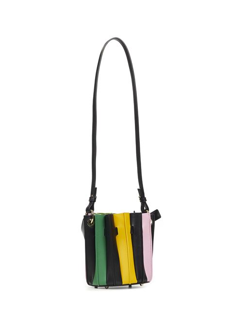 Sara Battaglia Mini Bucket Handbag Sara Battaglia   77132927   B004BLACKRAINBOW