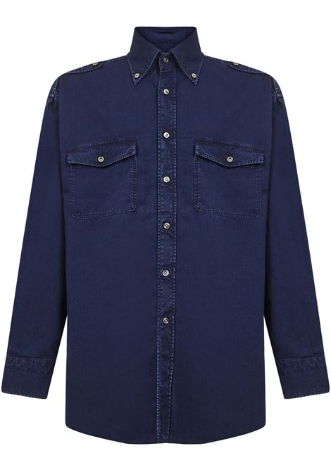 Tom Ford Shirt Tom Ford | -1043906350 | 9FT46094OMBEB07
