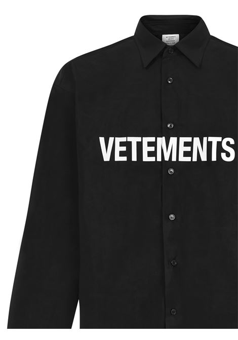Camicia Vetements VETEMENTS | -1043906350 | UE51SH300BBLACK