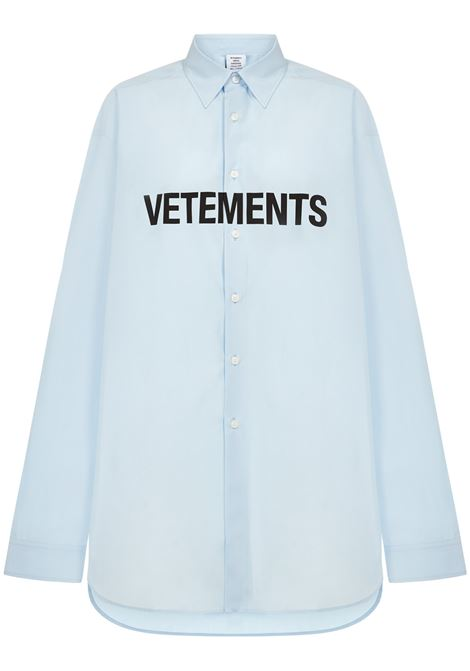 Camicia Vetements VETEMENTS | -1043906350 | UE51SH300LLIGHTBLUE